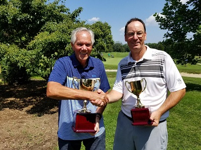 (l to r) Winner Ernest Yarnall & Runner Up Larry Herzenberg