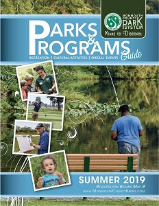 Summer Parks & Programs Guide 2019 cover